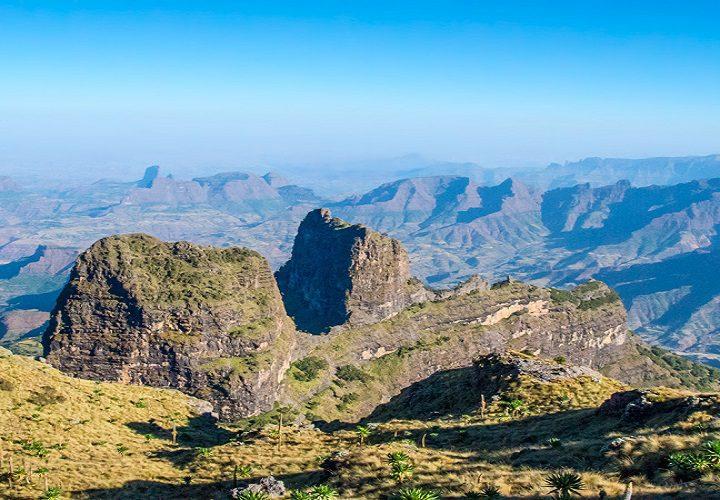 Simein mountain hiking